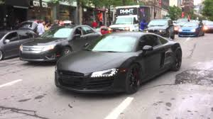audi r8 matte black matte black audi r8 passing by youtube
