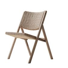 Folding Wicker Chairs Contemporary Chair Folding Upholstered Ash D 270 1