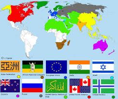 Islam World Map by Alternative Future World Map World War 3 By Nikko707 On Deviantart