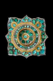 tibetan ornaments worn on the belt or attached to clothes by truus