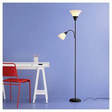 Blue Floor Lamp Torchiere Floor Lamp With Task Light Room Essentials Target