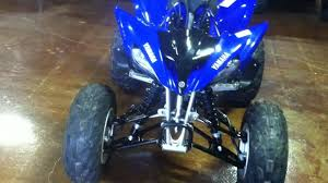 yamaha raptor 250 light weight quad 2011 review youtube