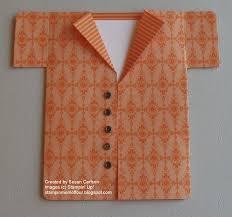 Invitation Card Dimensions Stampin U0027 Mom Of Four Father U0027s Day Shirt Card Tutorial