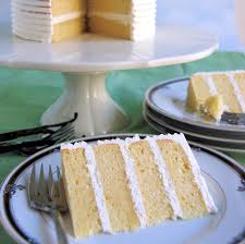 vanilla layer cake baking sense