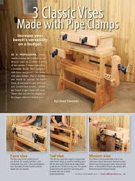 Wooden Bench Vice Parts by 123 Best Shop Clamp Vise Press Images On Pinterest Woodwork