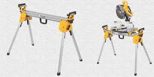 dewalt chop saw table dewalt dwx724 compact miter saw stand review
