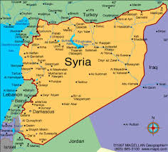 Maps Syria by Foreign Bases In Syria Middle East Media Research Institute