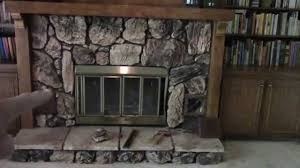 removing an old heatilator fireplace youtube