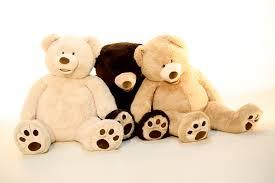 giant teddy bear prop hire u2013 52 u2033 plush teddy bear