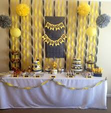 yellow and gray baby shower decorations 31 baby shower decorating ideas with gray yellow theme