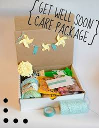 get better care package a don t go while getting better activity care package