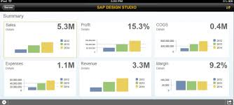 sap businessobjects design studio
