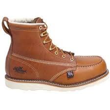 womens boots vibram thorogood boots s steel toe vibram sole work boots 804 4200