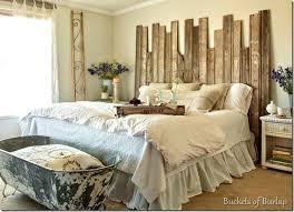 Rustic Wood Headboard Farmhouse Bedroom Design Farmhouse Bedroom With Rustic Wood
