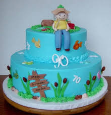 fishing cake ideas 90th birthday cakes and cake ideas 90 birthday fishing cakes