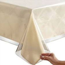 thick clear vinyl table protector sparkle table protector tablecloth thick felt heavy duty heat gold
