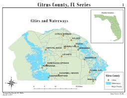 Crystal River Florida Map Mapping The Globe