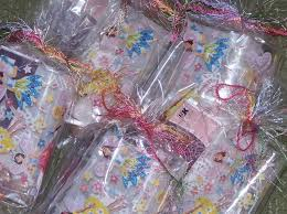 Birthday Favor Bags by Felicity S Strawberry Doll Birthday Child