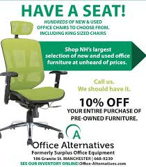 Used Office Furniture Nashua Nh by Office Alternatives Llc Home Facebook