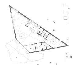 Home Architecture Plans Triangle House Jva Triangle House Architecture And Plan Drawing