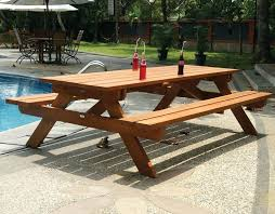 folding picnic table bench plans pdf picnic table and bench expominera2017 com