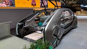 concept car of the renault s ez go concept car is a robot taxi from the future the verge