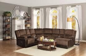 Reclining Sectional Sofa Sectional Reclining Sofa Sale Corona 6 Pc Microfiber Power