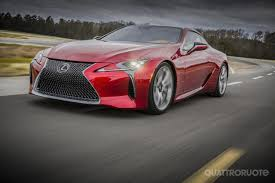 lexus lfa quanto costa lexus lc 500 a detroit anteprima mondiale per la nuova coupé