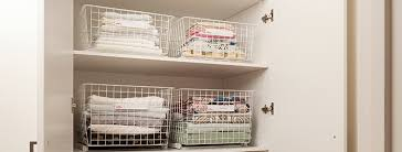 transform your linen cupboard with elfa easy glider