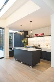 wonderful kitchens that combine movable kitchen island with