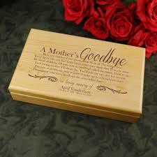 Engravable Keepsake Box Memorial Gift For Loss Of Mother Keepsake Memory Box