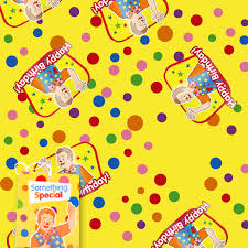 tmnt wrapping paper mr tumble happy birthday wrapping paper party mall