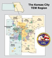 map of counties in kansas kansas city tew