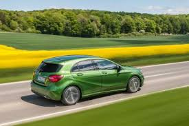 mercedes green updated mercedes a class is greener than the automotive
