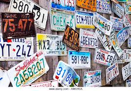 Maine State Vanity Plates Wall License Plates Stock Photos U0026 Wall License Plates Stock