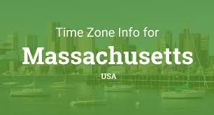 Time Zones Map United States by Time Zones In Massachusetts United States