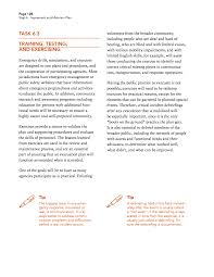 debriefing report template step 6 implement and maintain plan a transportation guide for page 123