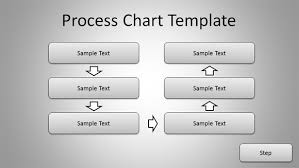 free simple process chart template for powerpoint presentations