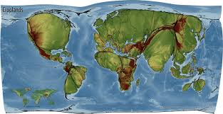 Robinson Map Global Spaces Of Food Production Views Of The World