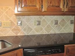 Travertine Tile Backsplash Travertine Backsplash Diamond - Tiles for backsplash kitchen