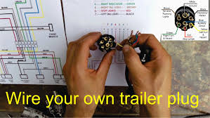 wiring diagrams 6 wire trailer plug seven pin 4 extraordinary