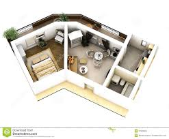 Free 3d Floor Plan by 3d Floor Plan Royalty Free Stock Photo Image 37626565