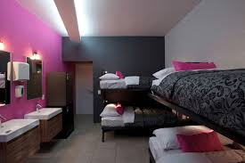 pink and black home decor hostal la buena vida in mexico city keribrownhomes dark pink white