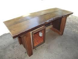 Oak Studio Desk by Reclaimed Wood Desks Barnwood Desks Custommade Com