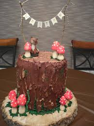 woodland themed baby shower woodland themed baby shower cake coffee to compost