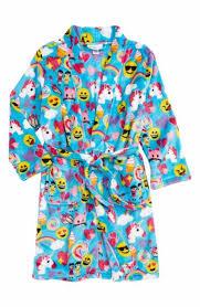 emoji robe candy pink candy pink girls blue emoji robe www jambabykids com