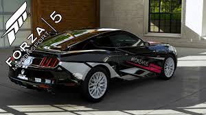 ford mustang limited edition forza 5 ford mustang gt forza fuel limited edition