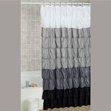 Turquoise Ruffle Curtains Bath Shower Curtains And Shower Curtain Hooks Touch Of Class