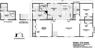 Cavco Floor Plans Floor Plan Cps 5828a Profile Series Durango Homes Built By