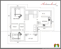 1000 sq ft kerala style house plan architecture beautiful house